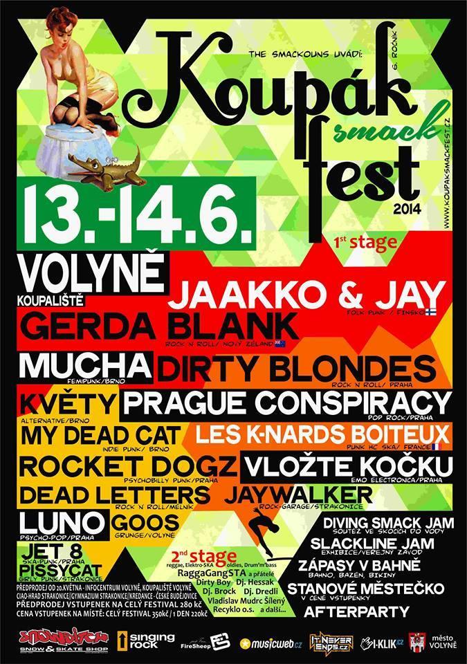 Koupák-Smack-Fest_poster