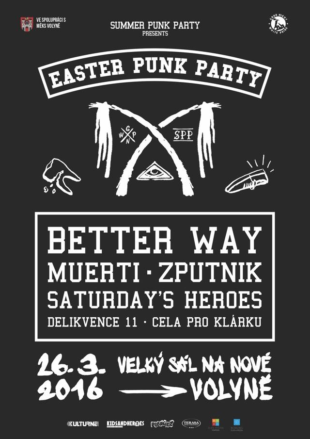 Punkové Velikonoce rozčísnou svou pomlázkou Better Way