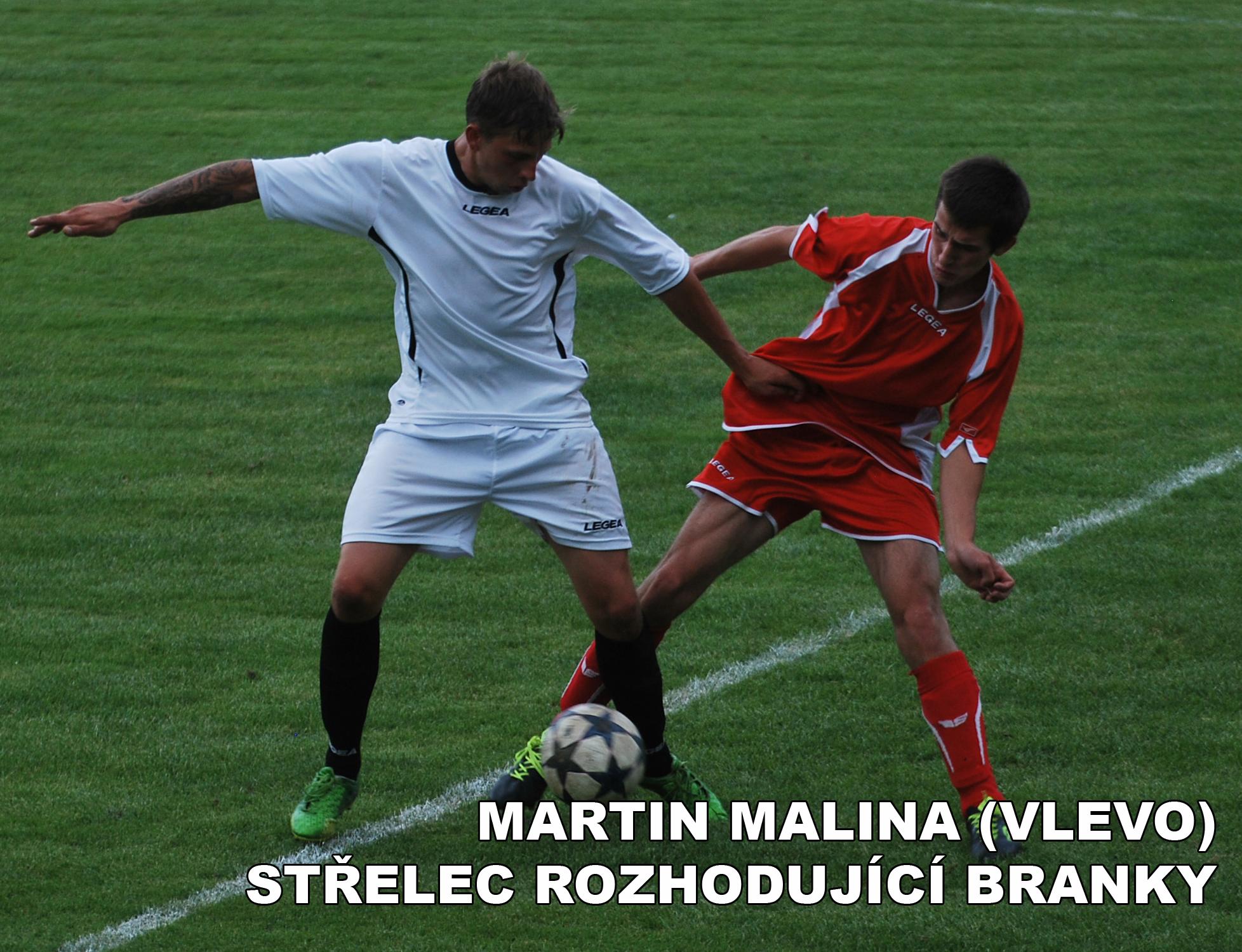 Fotbalisté Volyně dál zůstávají na vítězné vlně
